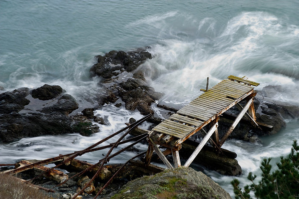 Jetty near Point Bonita