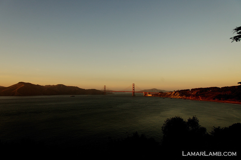 San Francisco, September 2011. Taken with my old D70 and Nikkor 18-200mm VR lens.  This camera is from 2004, ancient in the digital era but don't discount it.  It still takes great shots.