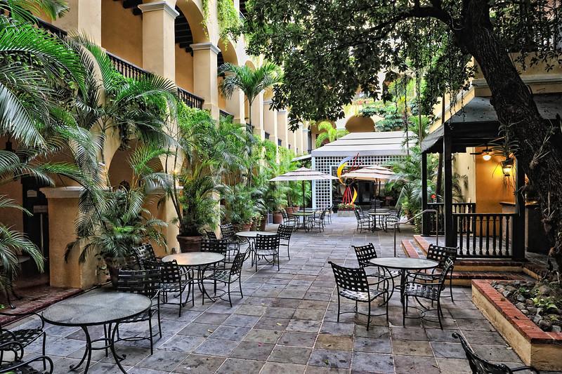 El Convento Courtyard