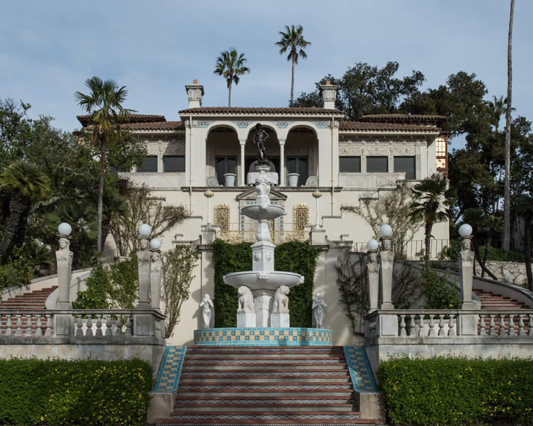 Guest cottage at Hearst Castle