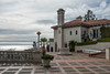 Patio and guest cottage at Hearst Castle