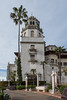Side elevation of Hearst Castle