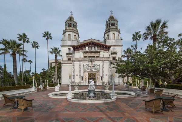 Front elevation of Hearst Castle