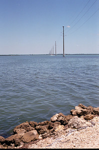 Electrical Poles in Water