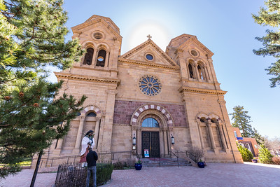 Cathedral Basilica of St. Francis of Assisi exterior