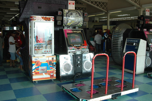 DDR at Santa Monica pier