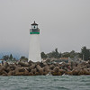 Walton Lighthouse from our boat