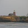 Mark Abbott Memorial Lighthouse from our little row boat