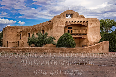 Church Near Ghost Ranch - Copyright 2016 Steve Leimberg - UnSeenImages Com _M1A8528