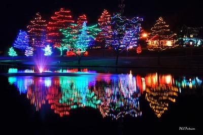 Sar-Ko-Par Trails Park  by Night for the Holidays
