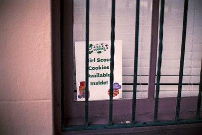 Girl Scout Cookies Availible Inside!
