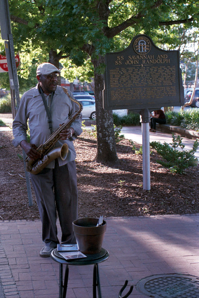 Man and His Sax