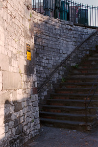 Historic Steps-Use at Own Risk