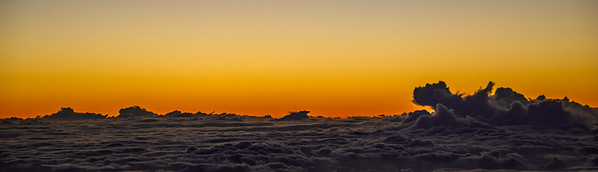 Above the clouds.  Photo by: Stephen Hindley©