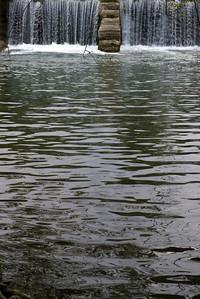 The Finley River in Ozark, MO.