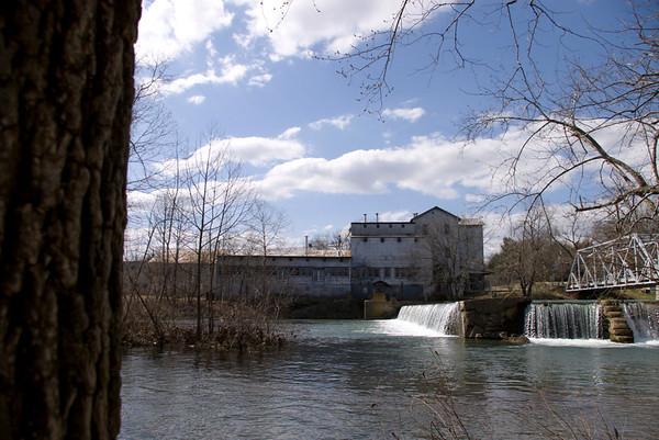 The Finley River mill in Ozark, MO.