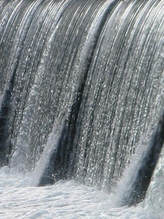 The Finley River waterfall in Ozark, MO.