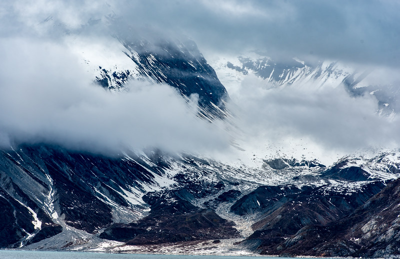 Glacier to the bay, Inside Passage, Alaska
