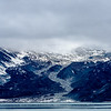 Clouds over glaciers, Inside Passage, Alaska