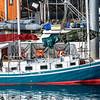 Sailboat, Sitka Harbor, Sitka, AK