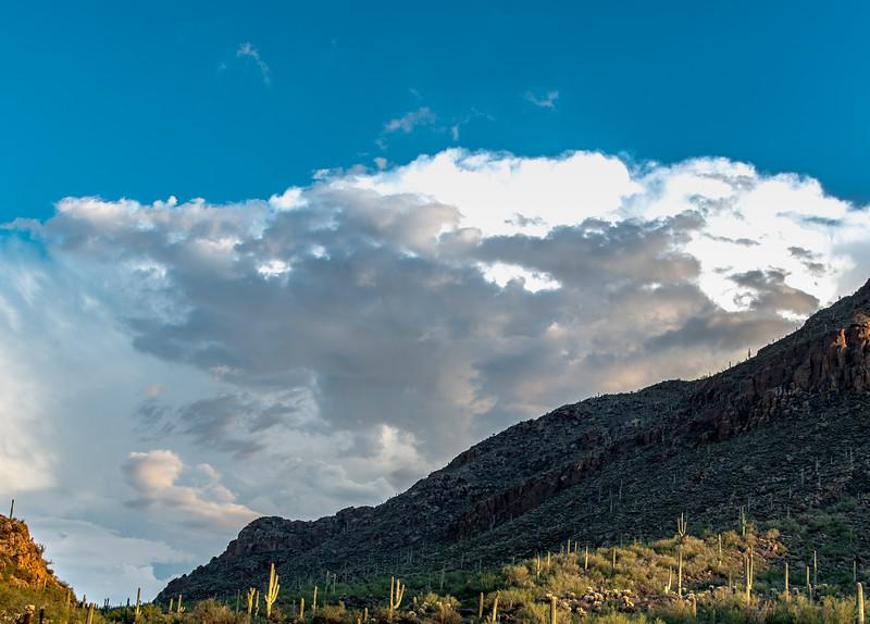 Clouds over Santa Catalina Mountains