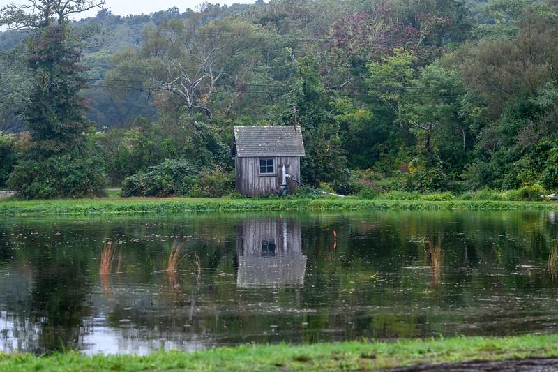Cranberry bog pump house, Cape Cod