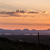 Purple sunset, Tucson Mountains