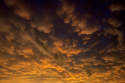 Mammatus clouds, Lawton, OK