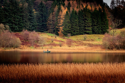 Fisherman, West Highland Way
