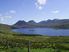 Aird of Coigach Aug 07 - Looking SSE towards Ben Mor Coigach with Loch Lurgainn in the centre.