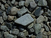 Pebbles on the beach.