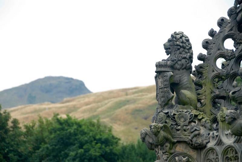 Overlooking Arthur's Seat, Edinburgh