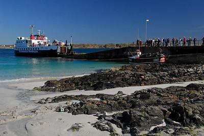 Caledonian McBrayne ferry at Iona landing - Iona, Scotland