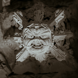 The Green Man at Rosslyn Chapel