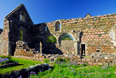 Ruins of the Nunnery at Iona, Scotland