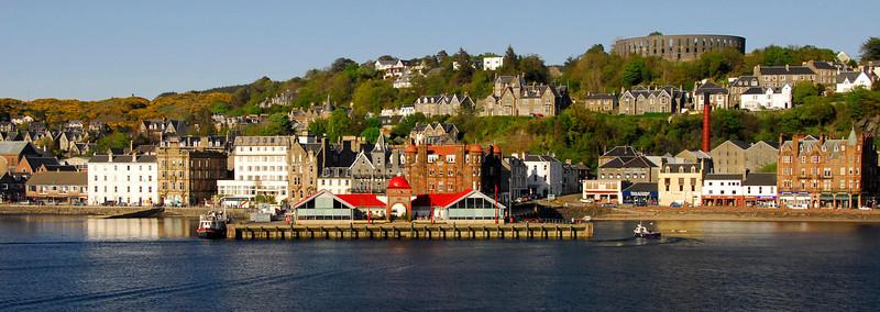 Oban waterfront  2 - Oban, Scotland  (Letterbox or Banner Format)