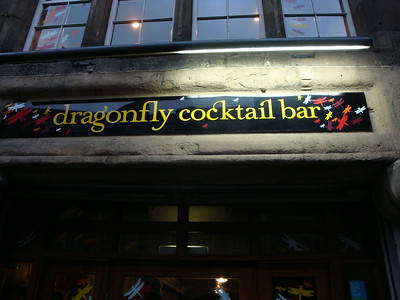 Dragonfly cocktail bar