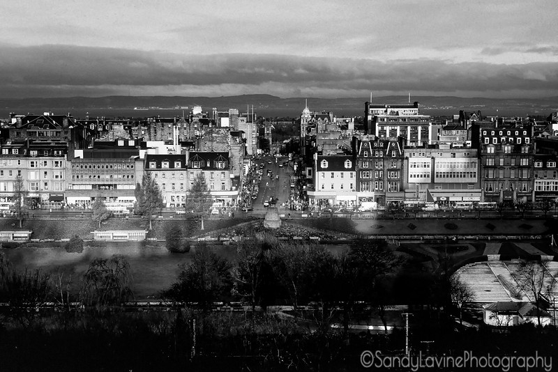 Princess Street From The Royal Mile 1992