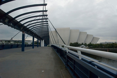 Footbridge to the SECC, glasgow