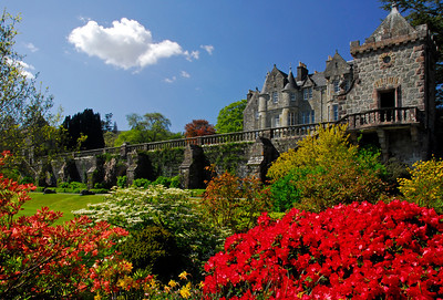 Torosay Castle and Garden - Scotland