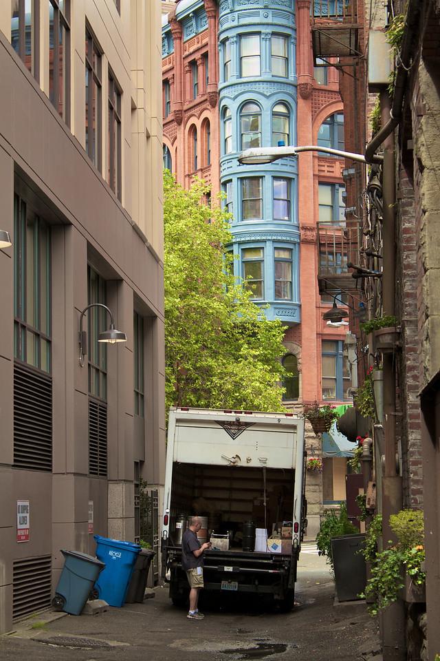 Seattle Alley.