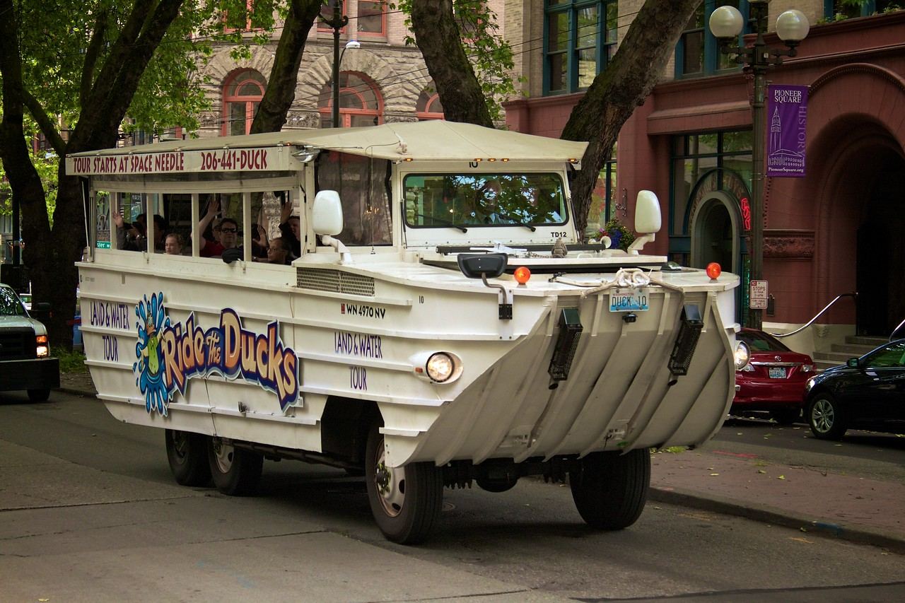 One of the Duck Trucks Tour.