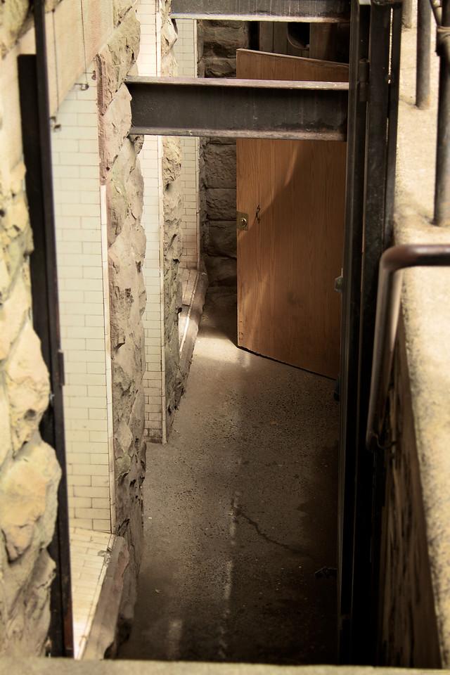 """One of the doorways to the """"Underground""""."""