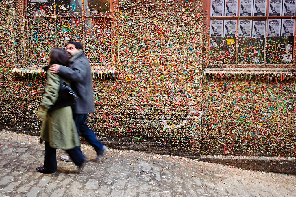 Gum Wall in Pike Place