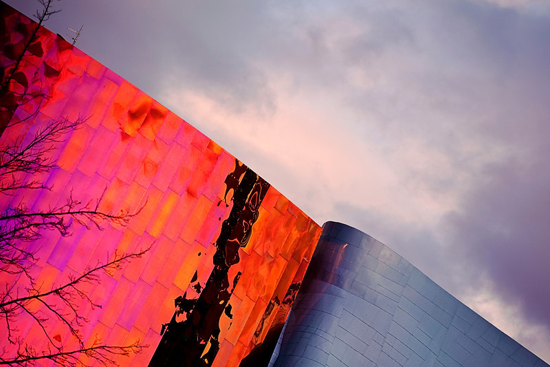 Frank Gehry in Seattle<br /> <br /> Nikkor 70-200 f2.8