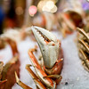 Pike Place Market: crab