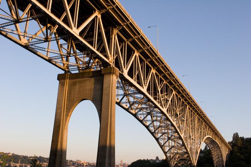 Aurora Bridge from Fremont<br /> Lense: Canon 24-70mm f/2.8L
