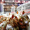 Pike Place Market: crabs