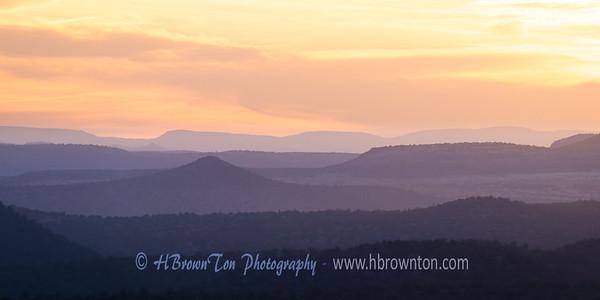 Sedona Sunset Silhouettes #2