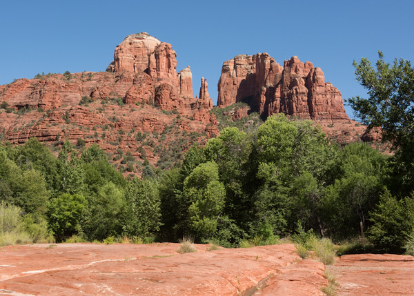 Cathedral Rock, taken at Buddha Beach in Red Rock Crossing Park.